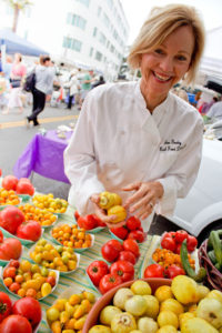 Ann Gentry, founder of Real Food Daily and a leader in vegetarian cuisine, will be one of the chefs featured Friday night at Los Angeles Food & Wine Festival's Summer at the Shore event. (Photo by Adrien Finkel)