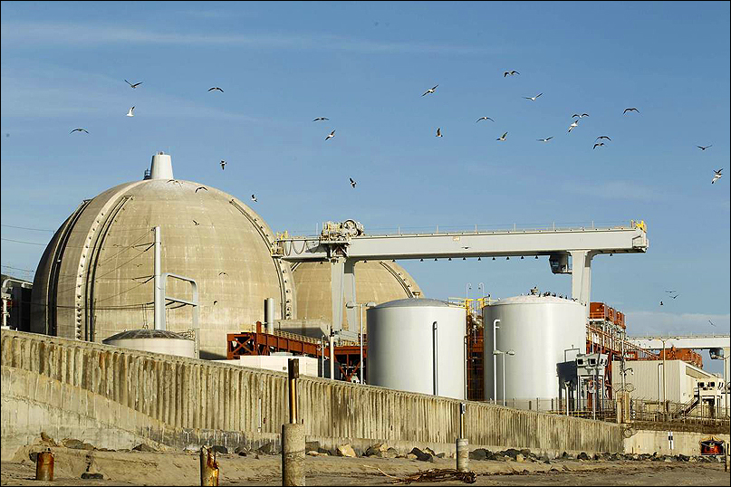 San Onofre nuclear power plant (Image courtesy Google Images)
