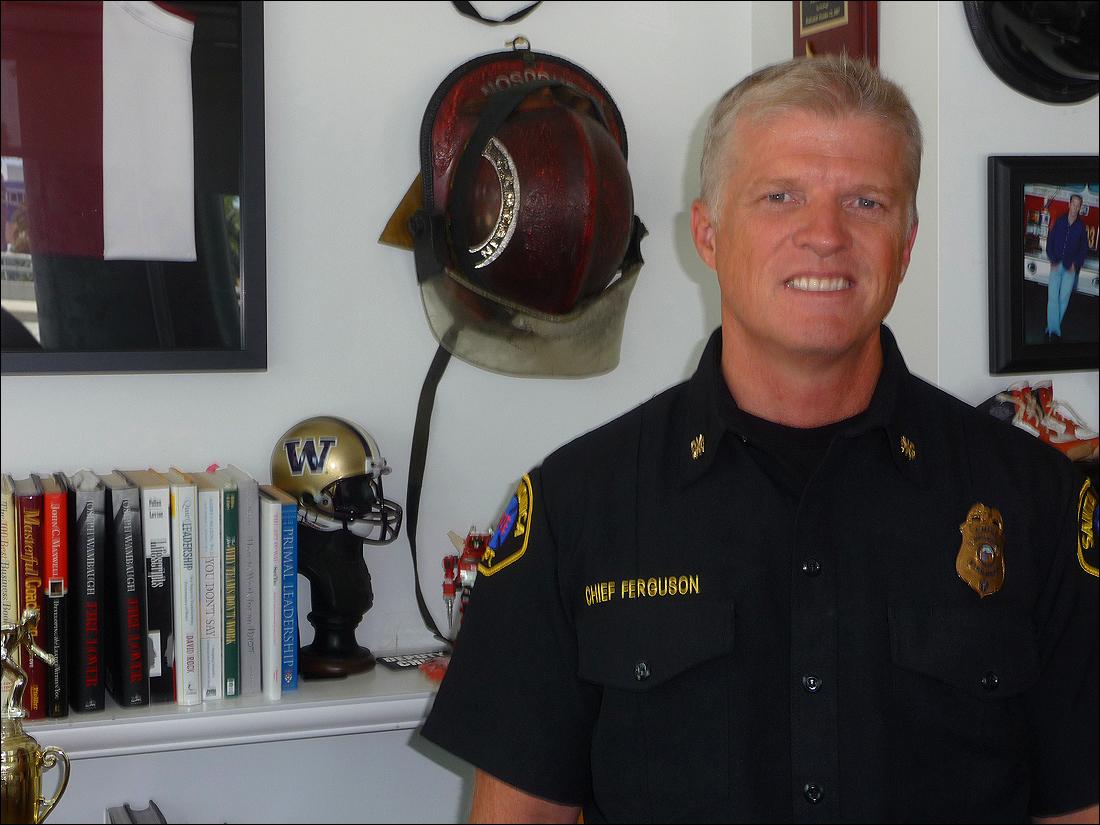 Chief Scott Ferguson (Kevin Herrera kevinh@smdp.com)