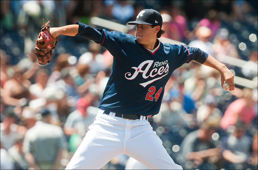 Tyler Skaggs (Photo courtesy Reno Aces)