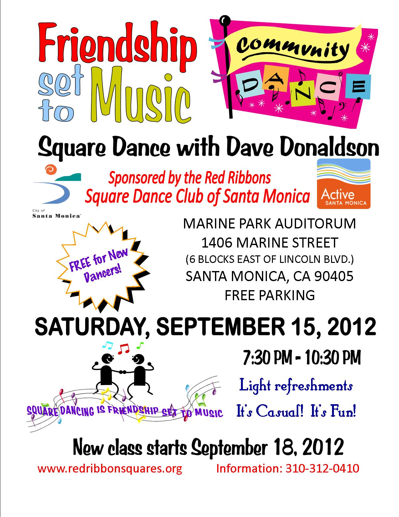 community dance 2012