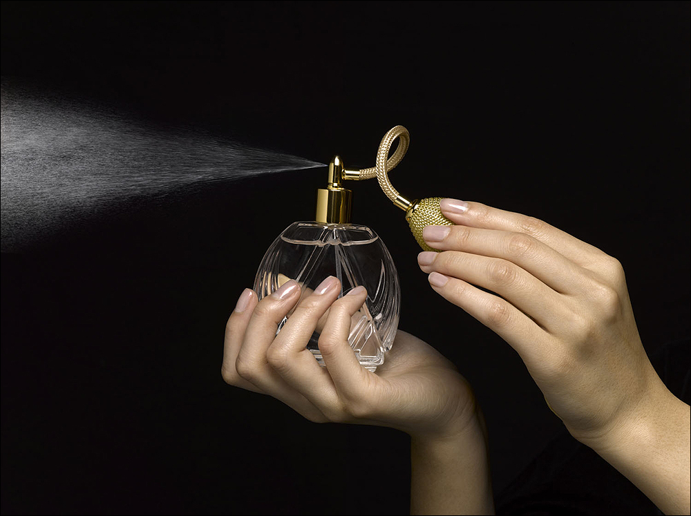 IN THE MIX: The Campaign for Safe Cosmetics commissioned independent laboratory tests that revealed 38 secret chemicals in 17 leading fragrances. To protect trade secrets, makers are allowed to withhold fragrance ingredients, so consumers can't rely on labels to know what hazards may lurk inside that new bottle of perfume. (Photo courtesy PhotoDisk/Thinkstock)