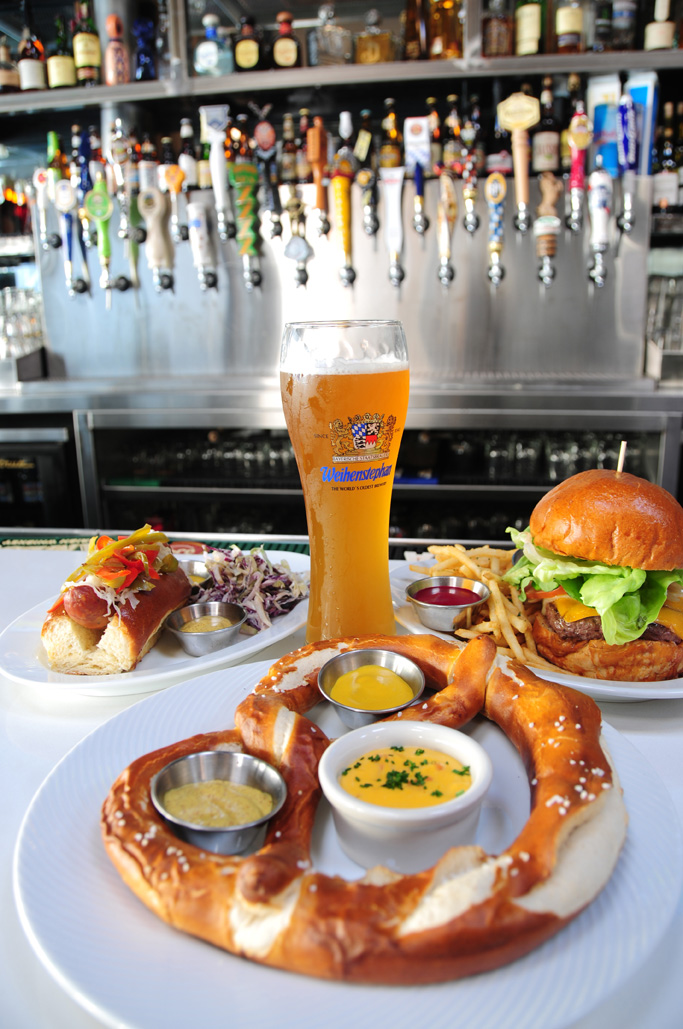 Who needs to head to Munich, Germany for Oktoberfest when Westsiders can hit up Brü Haus for fresh-baked pretzels and authentic brews from Deutschland. (Photo courtesy Wen Yeh.)
