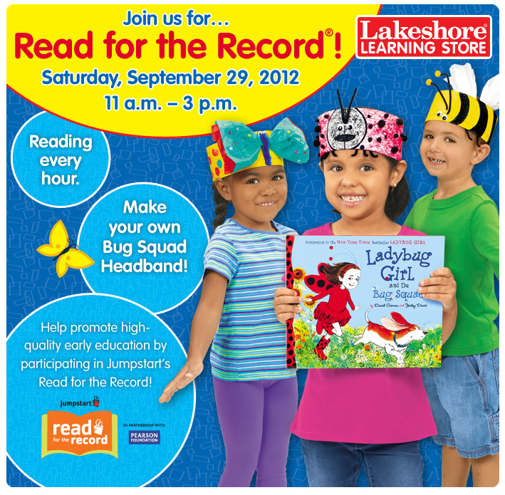 Jumpstart Read for the Record at Lakeshore Learning Stores