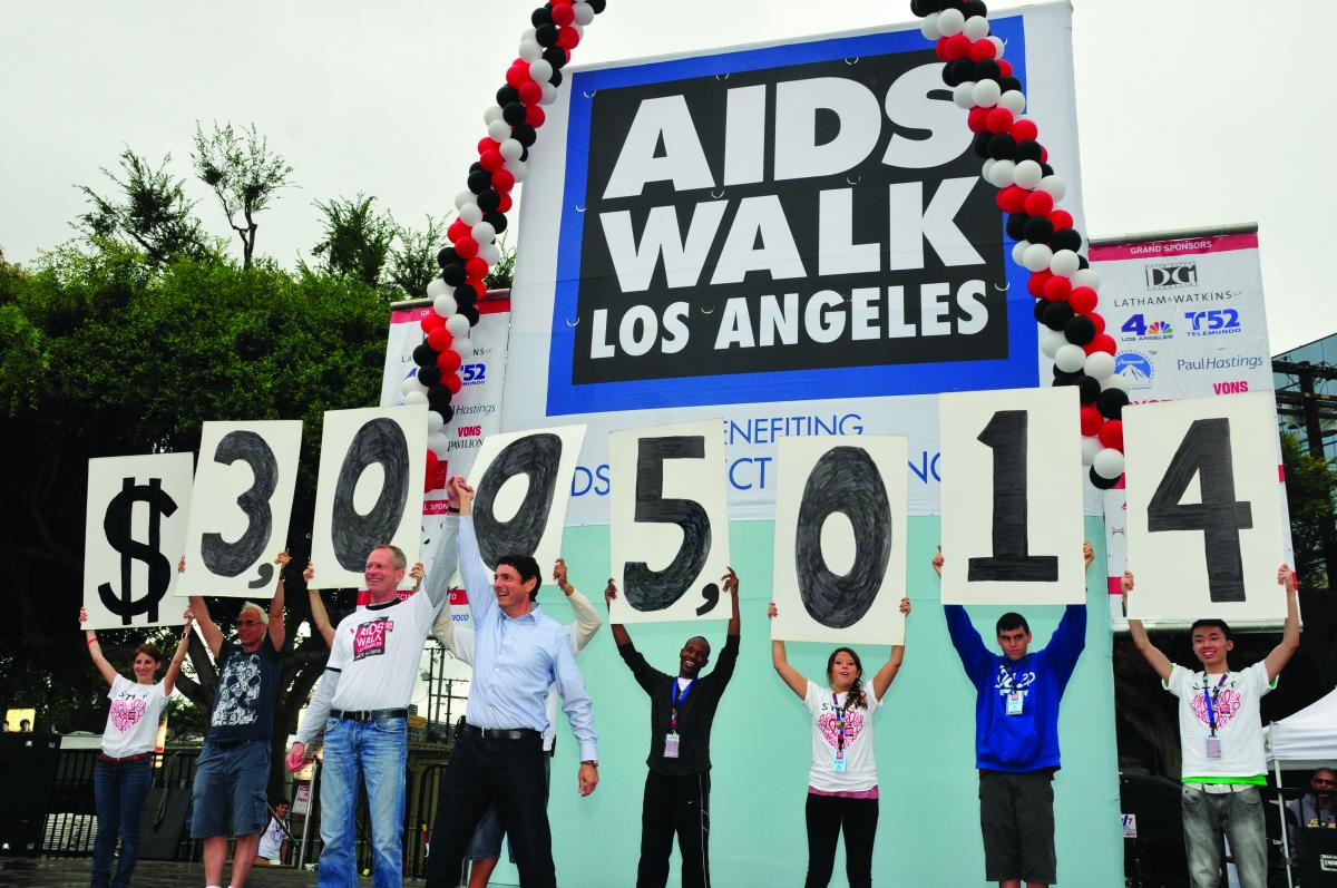 Students from New Roads School in Santa Monica will be participating in Sunday's AIDS Walk Los Angeles. (Photo courtesy AIDS Walk L.A.)