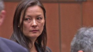 Kelly Soo Park at a court appearance. (Photo courtesy Google Images.)