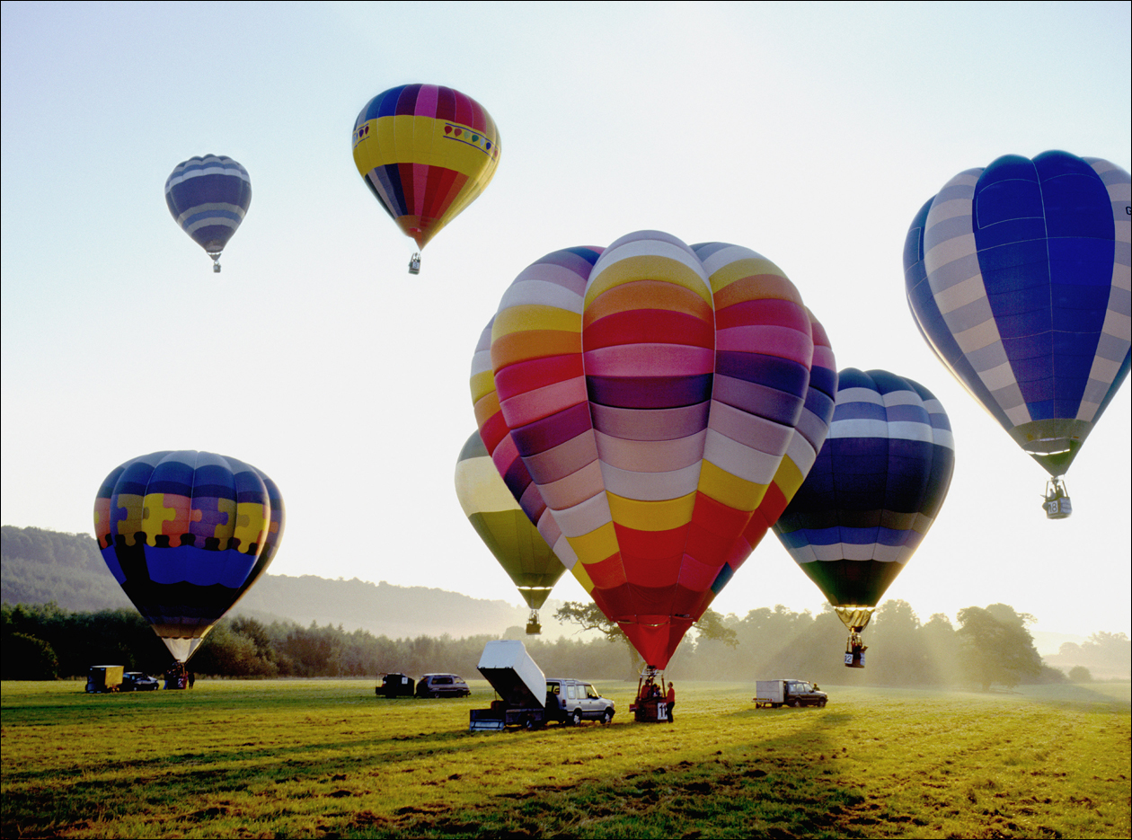 COSTS BEING DEFLATED: A new state law will make it less expensive to get insurance for hot air balloon businesses.