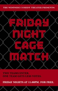 cagematchposter