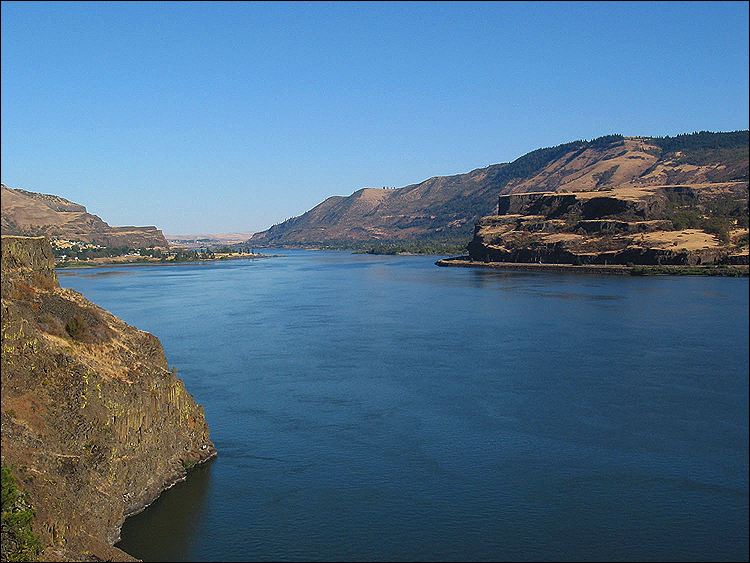 DOWN STREAM: Rivers may well be hard hit by climate change, given the likelihood of increased droughts, floods and the associated spread of waterborne diseases. Pictured: The Columbia River in the Pacific Northwest, which has lost 14 percent of its water volume since the 1950s due to higher temperatures and shifting precipitation patterns. (Photo courtesy iStockPhoto)