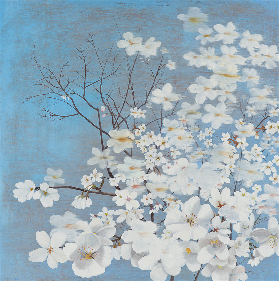 Astrid Preston's  'Blossoms'  Her work appears at the Craig Krull Gallery  on Jan. 26.