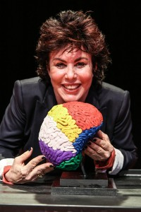 Ruby Wax stars in 'Ruby Wax is Out of Her Mind,' now playing at The Edye. (Chelsea Lauren Getty Images)