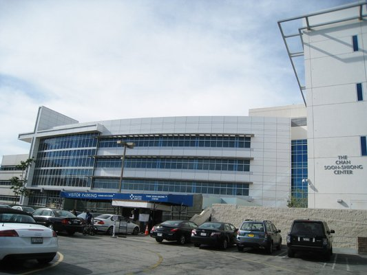Parking at Saint John's Health Center could get worse now that the hospital was told it will no longer be able to lease 450 parking spaces at nearby Colorado Center. (Photo courtesy Google Images)