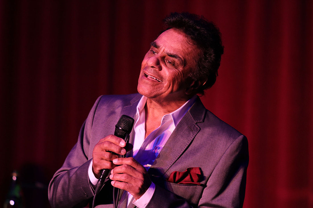 Johnny Mathis (Photo courtesy Saint John's Health Center)