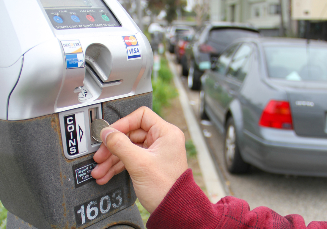 Officials are proposing to spend $3.6 million on the city's smart parking meters in both service charges and upgrades. (Photo by Daniel Archuleta)