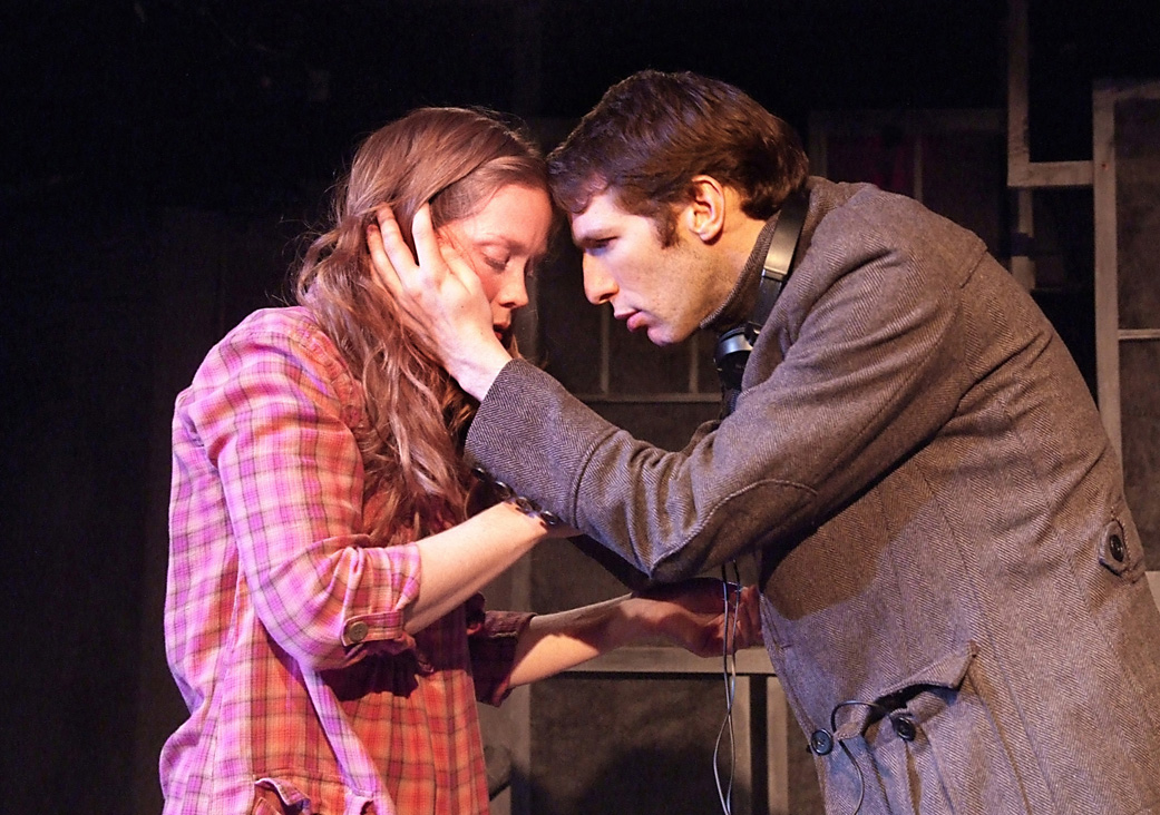 ACTION: Virginia Newcomb and Dan Shaked star in 'On the Spectrum.' (Ed Krieger editor@smdp.com)