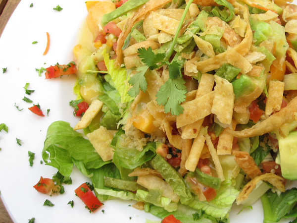 Baja Salad at Veggie Grill. (Photo courtesy Google Images)