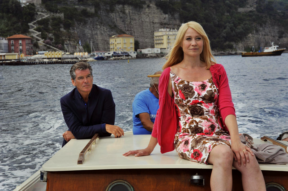 Pierce Brosnan and Trine Dyrholm star in the romantic comedy 'Love Is All You Need.' (Photo courtesy Sony Pictures Classics)