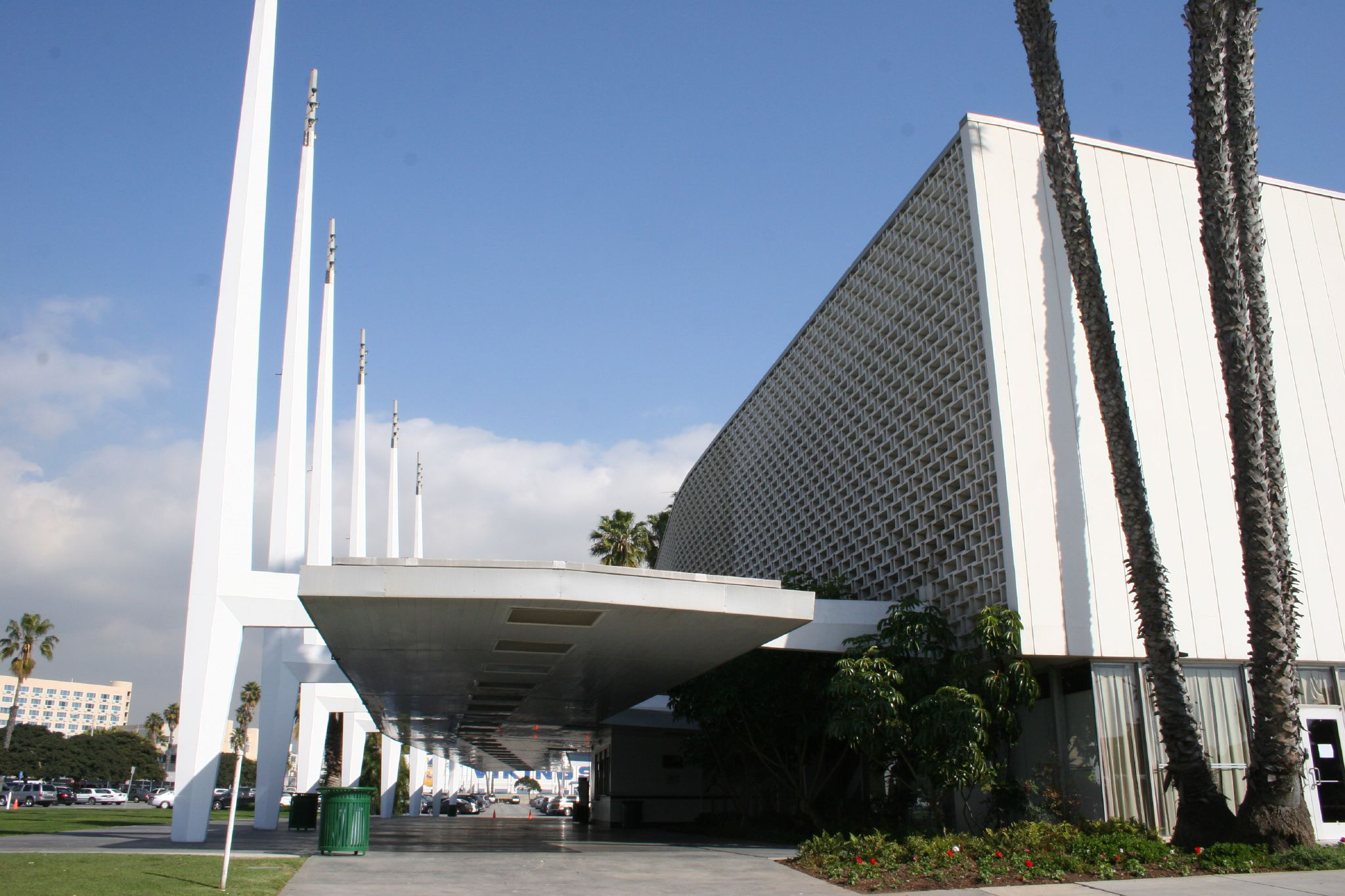 The Santa Monica Civic Auditorium.