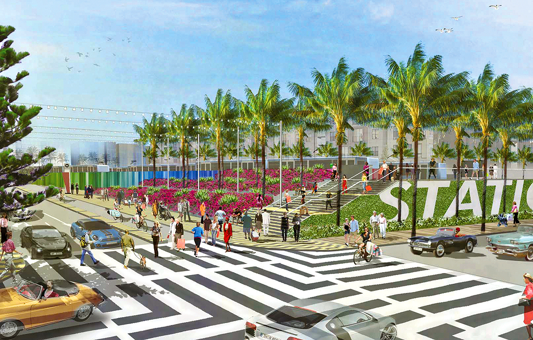 Colorado Esplanade (Rendering courtesy city of Santa Monica)
