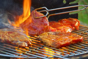 Memorial Day weekend is usually the kick-off for summer, which means it's time to break out the barbecue. But be careful. Grilling meat for too long could produce carcinogens. (Photo courtesy Google Images)