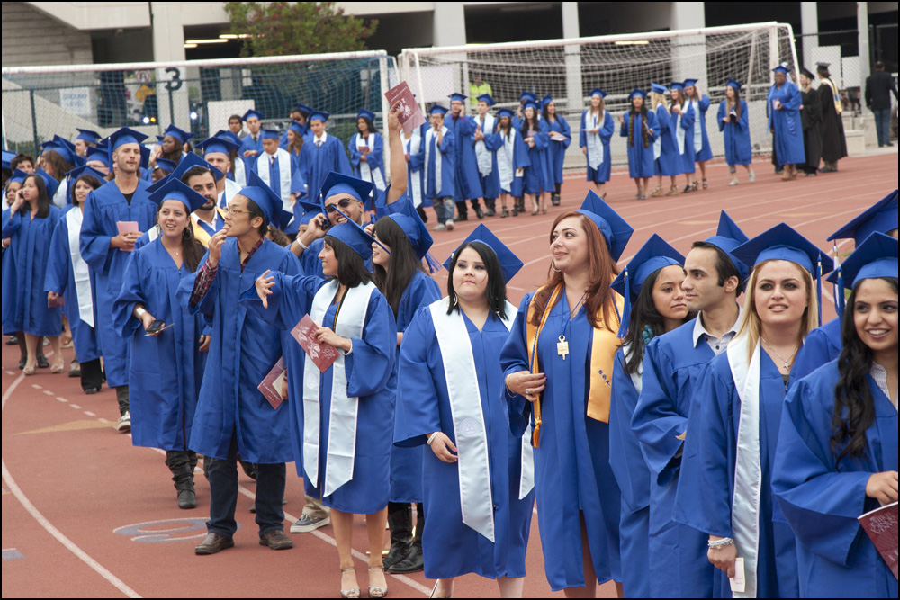 SMC graduation, 2011. (File photo)