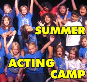 SMPlayhouse Summer Acting Camp 2013 LOGO
