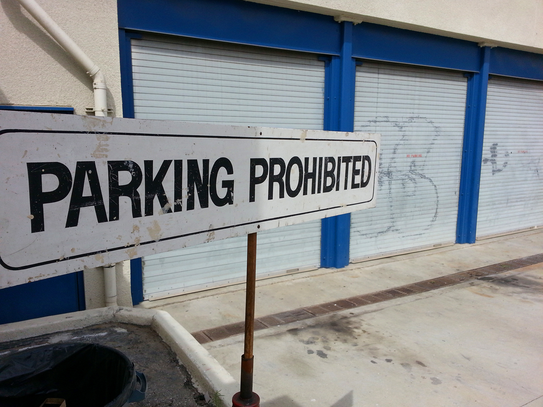 Auto shop at Santa Monica High School. (Photo by Daniel Archuleta)