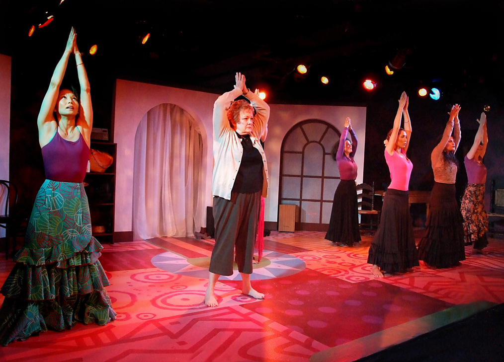 JUST MOVE: Flamenco takes center stage at The Fountain Theatre for a production of 'Heart Song.' (Photo courtesy Ed Krieger)