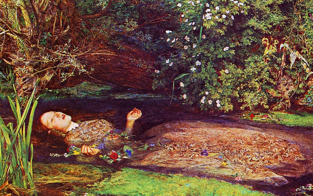 CLASSIC IMAGE: John Everett Millais' iconic Pre-Raphaelite painting of Ophelia. (Photo courtesy Tumblr)