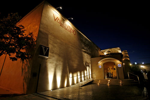 Valentino restaurant on Pico Boulevard is for sale for $4.9 million. (Photo courtesy Google Images)