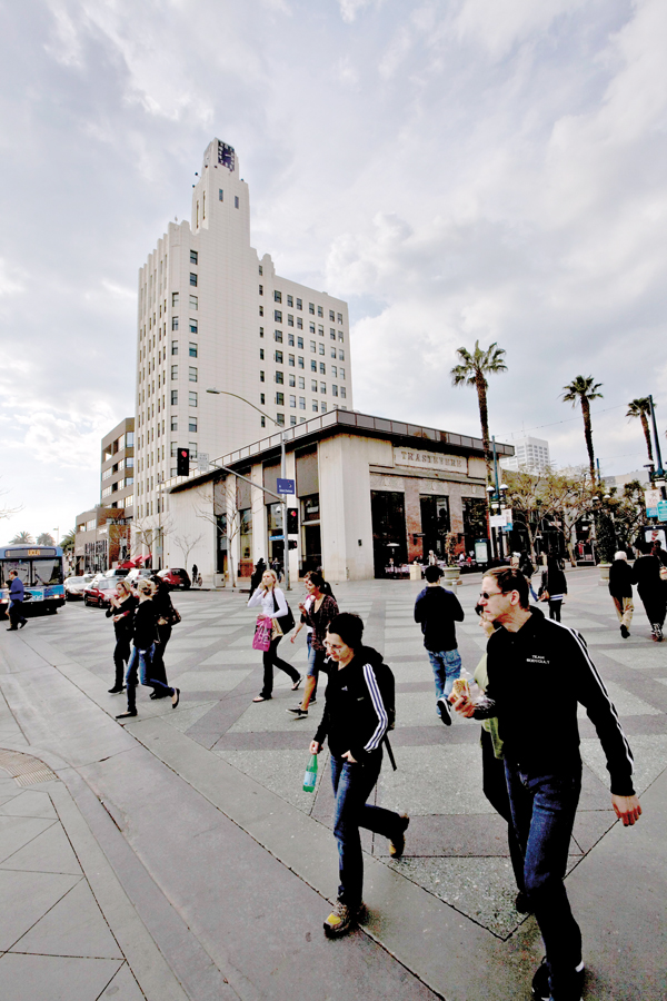 ICONIC: The Downtown plan aims to cap heights to maintain the clock tower's prominence. (File photo)