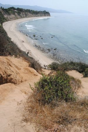 A new app on accessing Malibu beaches like this one has its drawbacks. (Alexis Driggs editor@smdp.com)
