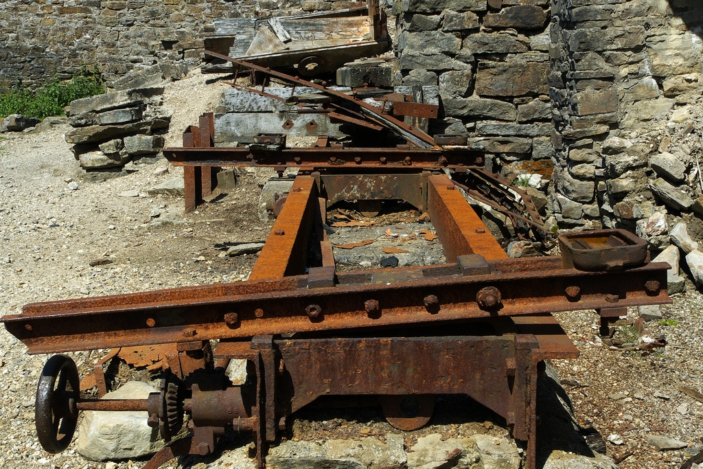 Unsafe levels of lead contaminate soil in hundreds of neighborhoods around the U.S. where lead smelting facilities operated between the 1930s and 1960s. Children under the age of six are especially vulnerable to lead poisoning, which can severely affect mental and physical development. Pictured: Rusty remains at an old lead smelting mill. (Photo courtesy Simon Bowen)