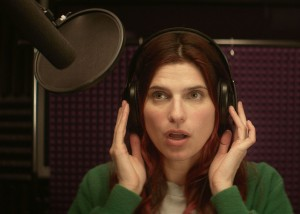 BUSY LADY: Lake Bell stars in 'In a World.' Bell also directed and produced the film. (Photo courtesy Seamus Tierney)