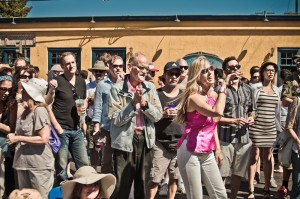 FESTIVE MOOD: People dance during the 2012 Main Street Summer SOULstice. (Photo courtesy Ryan Melideo)