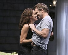 Amy Brenneman and Lee Tergesen in Gina Gionfriddo's 'Rapture, Blister, Burn,' at the Geffen Playhouse.