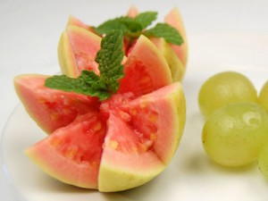 The guava packs a mean punch when it comes to its nutritional value (Photo courtesy The Food Network)