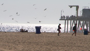 A new report suggests that coastal communities like Santa Monica could be inundated with large waves if a tsunami struck. (Daniel Archuleta daniela@smdp.com)