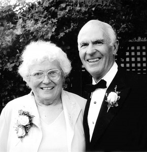 GOLDEN MOMENT: Kathy and Joe at their 50th wedding anniversary. (Photo courtesy the Geletko family)