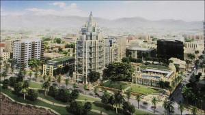 Proposed design for the Fairmont Miramar Hotel project. (File image)