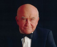Lovable curmudgeon: Ed Asner appears Sunday night at the Road Theatre. (Photo courtesy Quince Productions)
