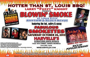 BLOWIN' SMOKE OCTOBER 26 POSTER