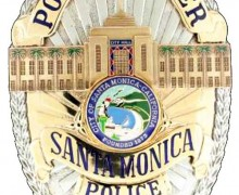 Design of new SMPD badge. (Image courtesy City of Santa Monica)