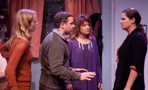 THE CAST: Kirsten Kollender, Joshua Bitton, Peggy Dunne and Jennifer Pollono star in 'Lost Girls.' (Photo courtesy John Flynn)