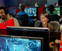 Employees at Riot Games not only create games, they play them too. (Photo courtesy www.riotgames.com)