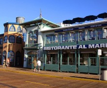 WELCOME: The newly-opened Ristorante Al Mare is located on the Santa Monica Pier. (Photo courtesy Roy Persinko)