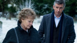 THE CAST AT WORK: Judi Dench and Steve Coogan star in 'Philomena.' (Photo courtesy BBC Films; Pathe Productions Limited)