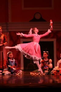 Molly Novack as Clara in Westside Ballet of Santa Monica's 'The Nutcracker.' ( Photo by Todd Lechtick)