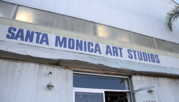 Converted from an old City Hall-owned hangar at the Santa Monica Airport, Santa Monica Art Studios is touted as an affordable option for creative minds. (Daniel Archuleta daniela@smdp.com)