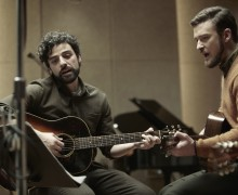 STARS: Oscar Isaac and Justin Timberlake star in the Coen brothers' 'Inside Llewyn Davis.'  (Photo courtesy Alison Rosa)